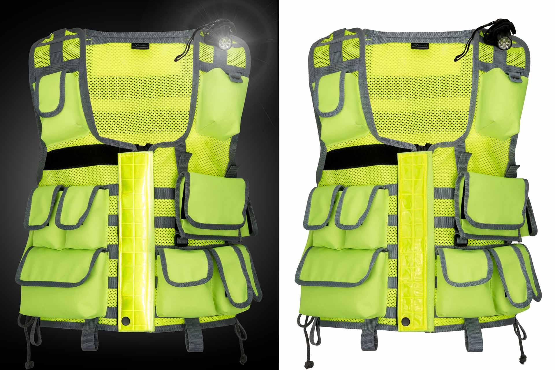 Packshot odzieży policyjnej i ochroniarskiej